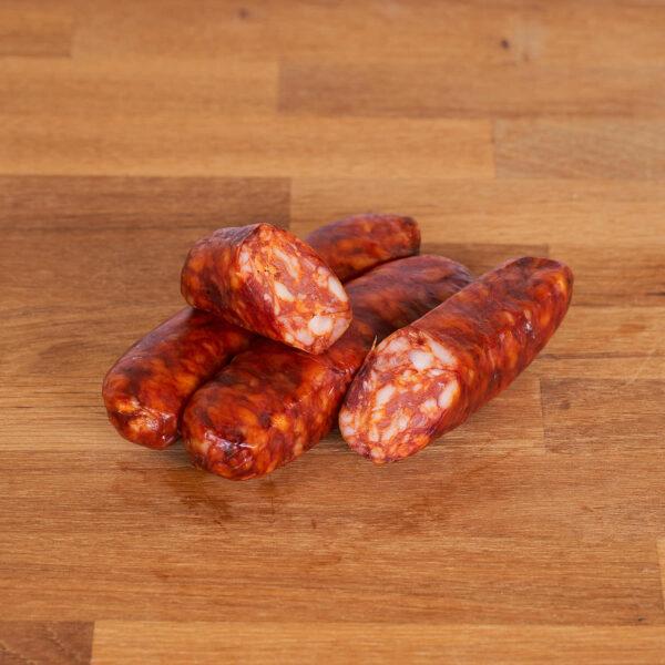 Chorizo de carne ecológica