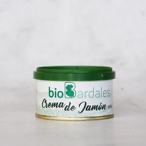 crema de jamón elaborada con productos ecológicos