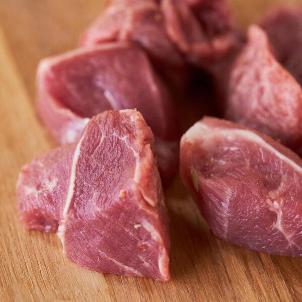 magro de cerdo criado con alimentación ecológica
