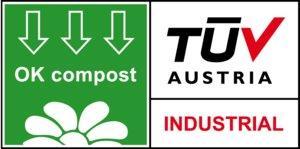 sello identificativo de packaging biocompostable