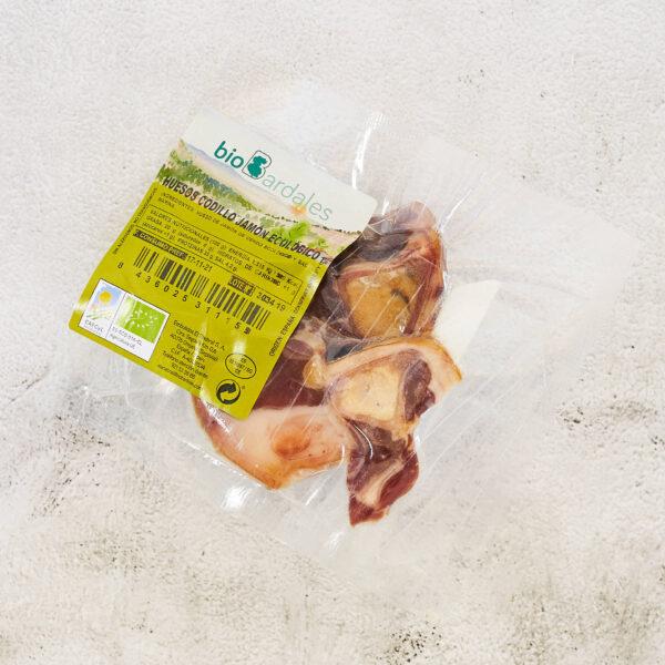 huesos de codillo de cerdo criado de forma ecologica