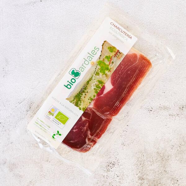jamón serrano loncheado de cerdo criado ecologicamente