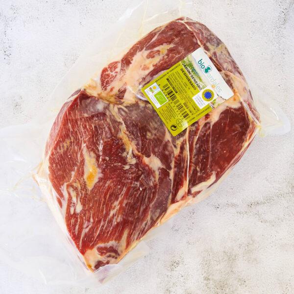 jamón entero deshuesado de cerdo ecologico
