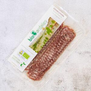 salchichón elaborado a partir de carne ecológica